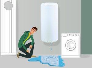Fuite de chauffe-eau : causes et solutions