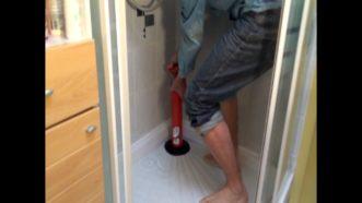 Débouchage de douche