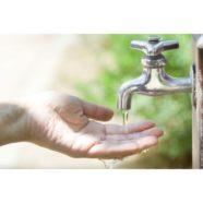 Faible débit d'eau