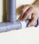 Comment réparer un tuyau endommagé