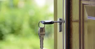porte fermée à clef