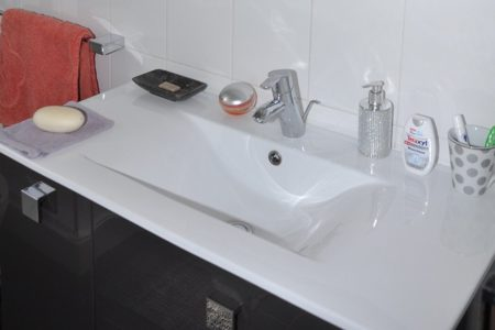 Remplacement et vidange lavabo