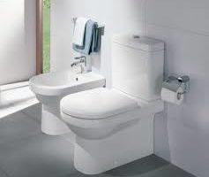 Remplacement WC à sortie verticale centrale