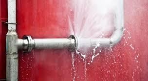 fuite d'eau canalisations