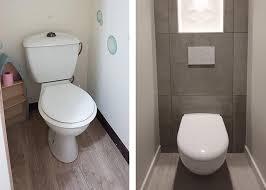 remplacement wc suspendu